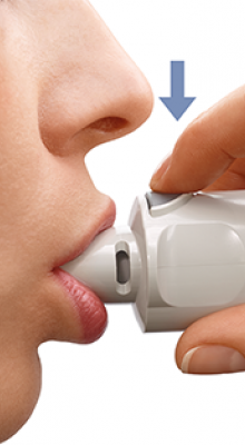 How to inhaler with Respimat